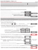 Form Tc-40a - Income Tax Schedule A - Parts 1, 2, 3