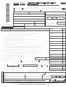 Form Nyc 202s - Unincorporated Business Tax Return For Individuals - 2014