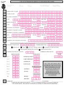 Form Pt-nbr 1/2000-city Of Pittsburgh Parking Tax Registration Form