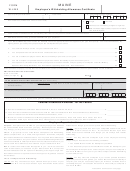 Form W-4me - Employee's Withholding Allowance Certificate Form