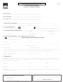 Form Dr 600f-registration/authorization Form