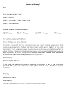 Letter Of Proxy Form-stark County Hunger Task Force