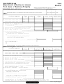Form Mi-4797 - Michigan Adjustments Of Gains And Losses From Sales Of Business Property - 2001