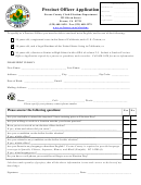 Precinct Officer Application Form - Fresno County Clerk-elections Department