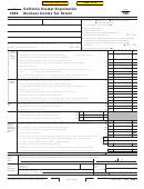 Form 109 - California Exempt Organization Business Income Tax Return - 2006