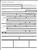 Form Hud-27050-b-application For Premium Refund Or Distributive Share Payment March 2003