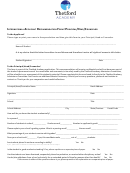 International Applicant Recommendation Form