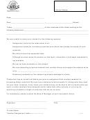 Teacher Assignment Letter Form