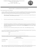 Request For Accommodation Of Disabilities Form
