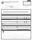 State Form 49464 - Application For Certificate Of Authority Of A Foreign Limited Liability Company - Indiana Secretary Of State