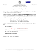 Form Uia 4101 - Employer's Quarterly Tax Payment Coupon - 2014
