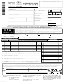 Form Cr-a - Commercial Rent Tax Return