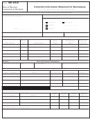 Form Md 433-b - Collection Information Statement For Businesses