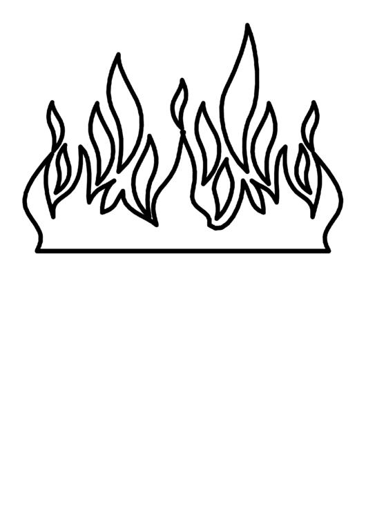 очень рисунок огня в камине трафарет нас