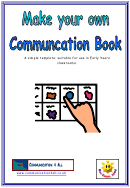 Communication Book Template