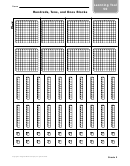 Hundreds, Tens, And Ones Blocks Worksheet
