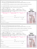 Mary Kay Foundation Customer Form