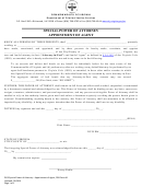 Form 1 - Special Power Of Attorney Appointment Of Agent