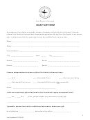 Legacy Gift Form - First Parish In Concord