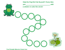 Help The Frog Find His Lily Pad Chart