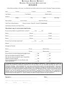 School Volunteer Application Form - Volunteer Code Of Conduct