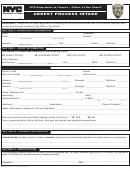 Arrest Process Intake Form