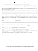 Three Day Notice To Quit Form