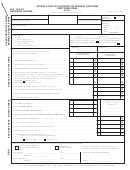 Form Br 1040p - Individual Return - City Of Big Rapids Income Tax - 2001