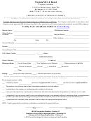 Certification Of Attendance Form 2
