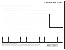 Class Auditor Permit Form
