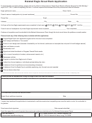 Form 512-076-belated Eagle Scout Rank Application Form - 2016