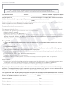 Services Contract Form