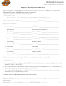 Request For Dependent Ds-2019 Form