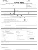 Form Ii - Civil Docket Statement