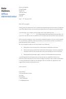 Office Administrator Cover Letter Sample - Dayjob - 2013