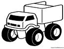 Truck Coloring Sheet