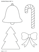 Christmas Template Set