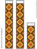Native American Headband Form