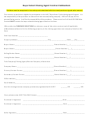 Buyer Select Closing Agent Contract Addendum Form