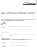 Service Animal And Handler/partner Registration Form