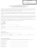 Service Animal And Handler/partner Registration Form
