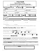 Form Mv 207 - Ifta Application Form
