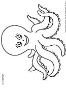 Octopus-coloring Sheet