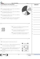 Basic Probability Worksheet With Answer Key