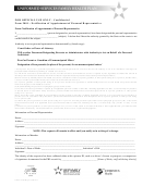 Form 2001 - Notification Of Appointment Of Personal Representative