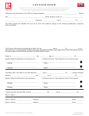 Form 410-06/2011 - Counter Offer