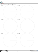 Creating Angles Worksheet