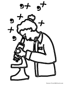 Coloring Sheet - Science