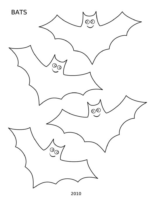 Bats Template Small