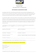 Notarized Guarantor Form